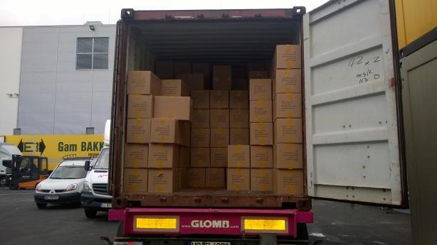 Ein Container voll mit Spielen...