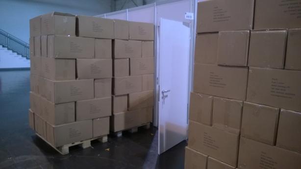 So viele Kartons...!